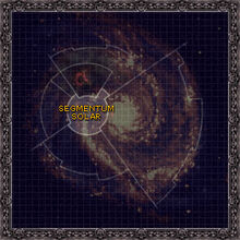 Galaxy map segmentumsolar
