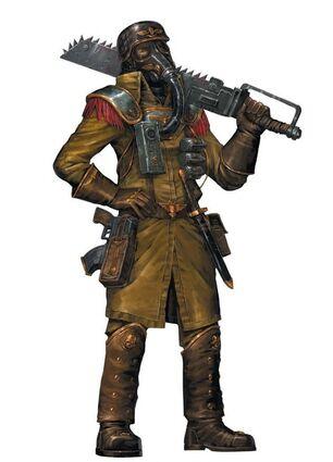 Sargento Legiones de Acero de Armageddon