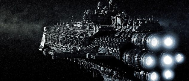 Flota crucero vista de motores