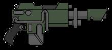 Rifle láser modelo Voss