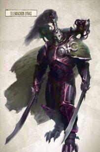 Telemachon Lyras Hijos del Emperador Legión Negra