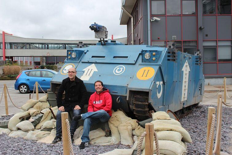 Warhammer World Nottingham Wikihammer Rhino 3