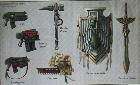 Armamento AO Wikihammer 40K