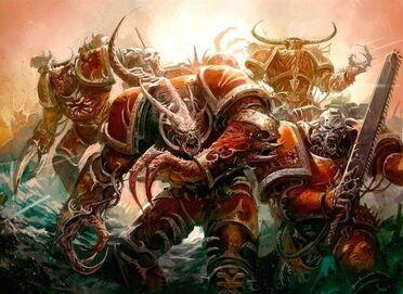 Caos marines poseidos khorne