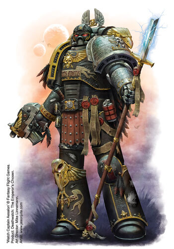 Guardianes de la Muerte Capitán de la Guardia Aesalon Aves Presa Ordo Xenos Wikihammer