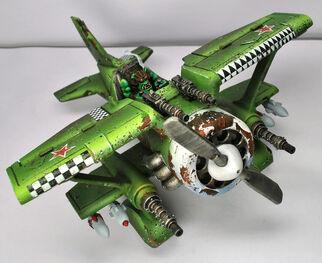 Orko avion zaqueado
