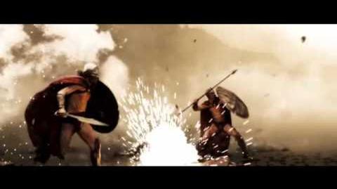 300 Escena Batalla Narrada en Español
