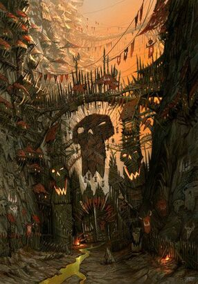 Orkos fortaleza mundo orko