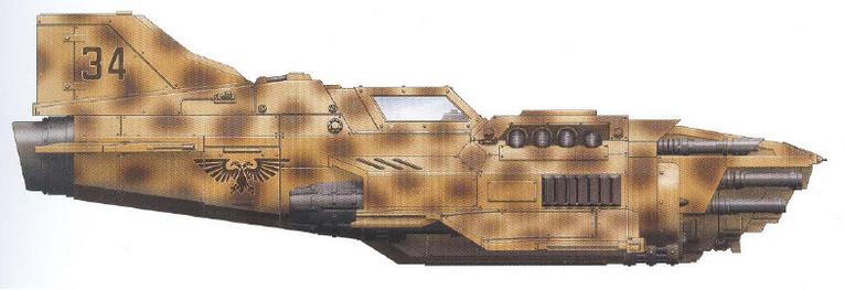 Thunderbolt Escuadron Aguila 83ª Ala de Cazas Camuflaje Desertico Quatara Prime Aeronaves Armada Imperial Wikihammer