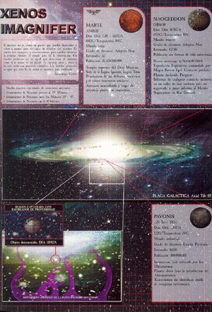 Xenos Imagnifer Necrones 3ª Edición ilustración