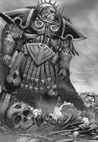 Angron regresa a Desh'elika Nuceria Herejía Devoradores de Ciudades
