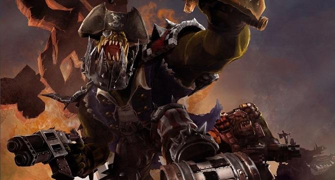 Kaudillo Orko orkos Retribution Dawn of War 2 Warhammer 40k Wikihammer