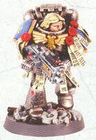Marine Táctico Errans Ángeles de Hierro Aly Morrison miniatura