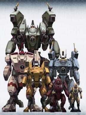 Tau armaduras comparativa 02