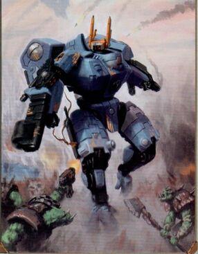 Comandante Tau shas'o Warhammer 40k wikihammer