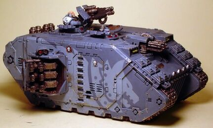 Iornwolves Land Raider Crusader
