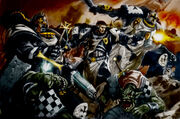 Marines templarios tercera guerra Armageddon