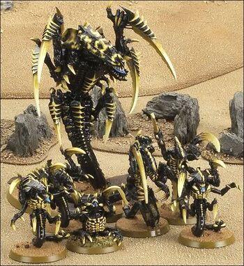 Miniaturas tiranidos Jormungandr