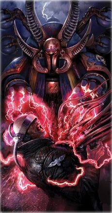 Ahriman Mil Hijos Caos Chaos Hechicero Warhammer 40k Wikihammer