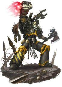 Guerreros de hierro sargento puño demonio