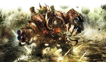 Hellbrute Bruto Infernal Caos Warhammer 40k wikihammer