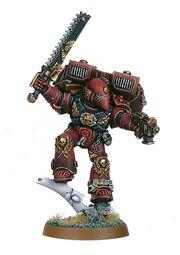 Miniatura marines templarios rojos asalto