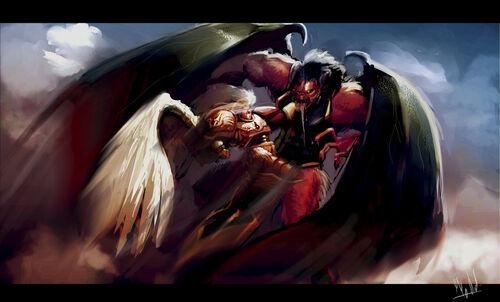 Primarca Sanguinus vs el devorador de almas