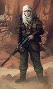 Gi tallarn incursores mujer soldado