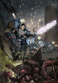 Ultramarines sargento exterminador