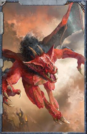 Caos demonio menor furia