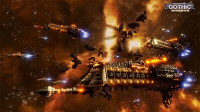 Flota Imperial Battlefleet Gothic Armada