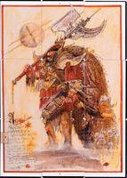 Angron John Blanche boceto puzzle
