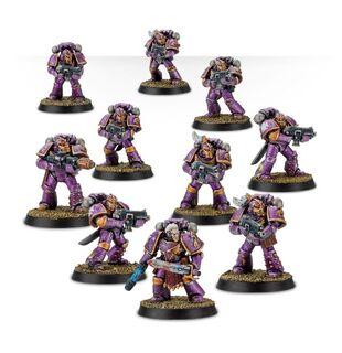 Escuadra Táctica Veterana Mk. IV Maximus Legión Hijos del Emperador