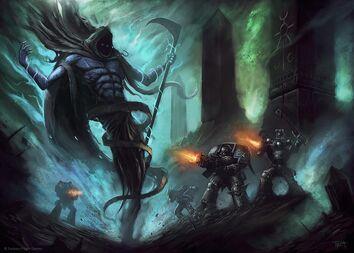 C'tan vs guardianes de la muerte