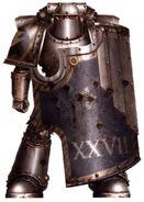 Legionario Rompedor Guerreros de Hierro Batalla de Phall