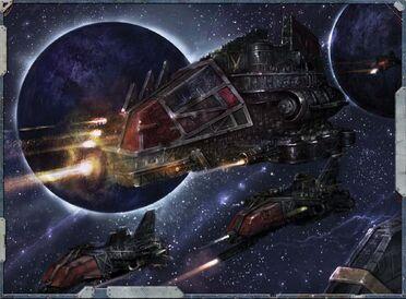 Orkoz cruzeros disparando espacio