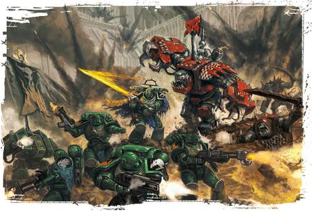Salamandras vs Orkos Acheron Armageddon
