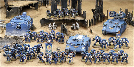 Tropas de ataque ultramarines