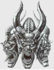 Demonio señor matanza