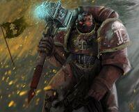 Marines cazadores rojos martillo energia
