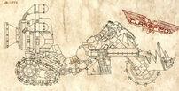 Motocikleta Orka Moto X Wikihammer 40K