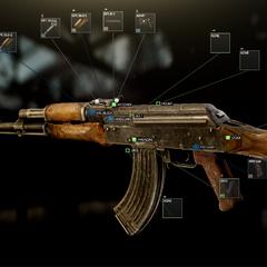 AKM 7 62x39 assault rifle   Escape from Tarkov Wikia