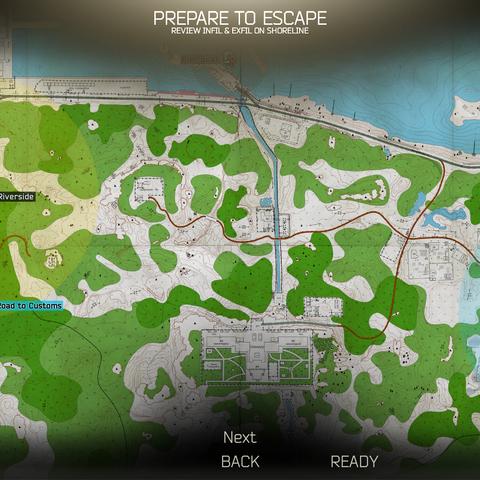 Shoreline paper map | Escape from Tarkov Wikia | FANDOM