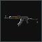 AKMSN 7.62x39 assault rifle