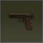 Пистолет ТТ 7.62x25 ТТ золотой