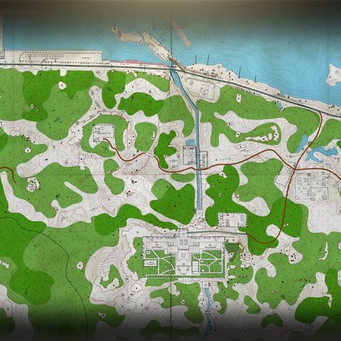Shoreline paper map   Escape from Tarkov Wikia   FANDOM