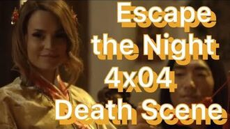 ESCAPE THE NIGHT 4x04 DEATH SCENE + FULL CHALLENGE