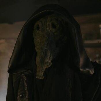 Masked Figure
