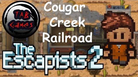 The Escapists 2 Cougar Creek Railroad WALKTHROUGH PLAYTHROUGH GAMEPLAY