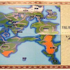 <small><center>Mapa de <i>Final Fantasy II</i> desplegado</center> </small>